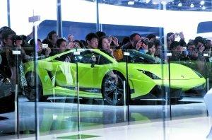 北京车展对公众开放 3800万豪车提前订出