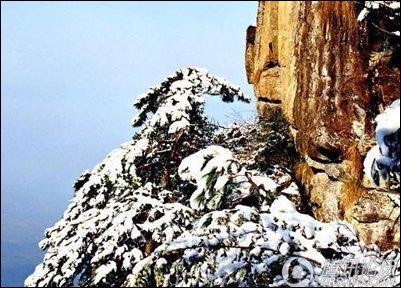 冬季自驾去庐山赏雪