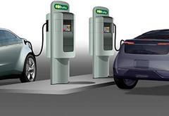 车企联手打造电动车快充网络 比特斯拉充电站快近3倍