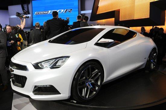雪佛兰2012北美车展两款概念车全球首发