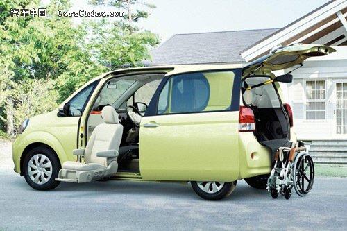 微型车受青睐 丰田porte和spade日本开卖