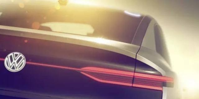 大众全新I.D.概念车预告图 上海车展亮相
