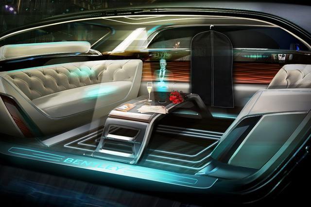 客利汽车铰出产杜撰男管家 全息投影更智能