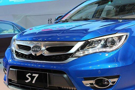 [新车解析]比亚迪全新S7首发 2.0T配双离合