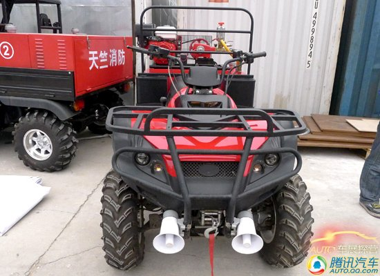 [北京车展探营]展馆外的另类展车—消防车