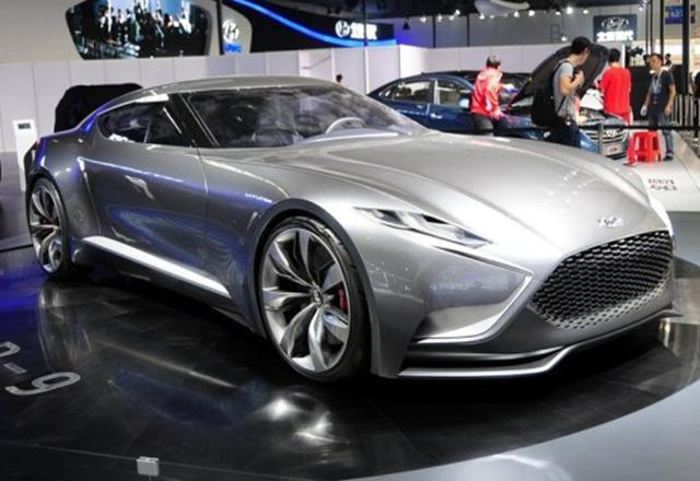 现代Genesis全新双门轿跑预告图 瞄宝马4系