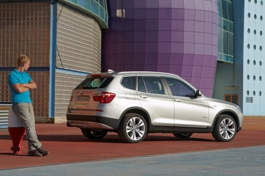 SAV新标尺 全新BMW X3亚特兰大全球上市