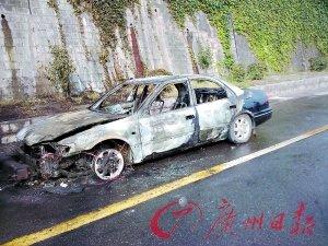 京港澳高速公路韶关段 一日内两车自燃