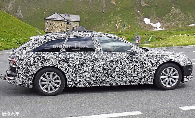 换上最新设计 新一代奥迪A6 Allroad实车曝光