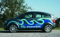 Audi A2H2 氢燃料电池车