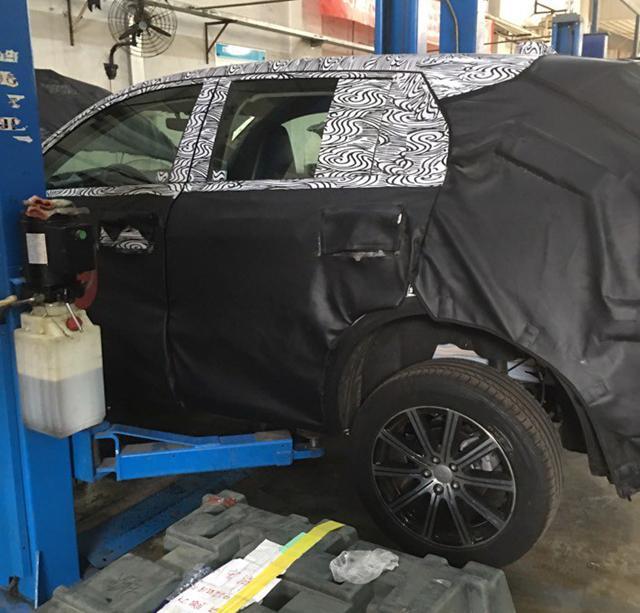 吉利首款CMA平台紧凑级SUV首曝 联合沃尔沃