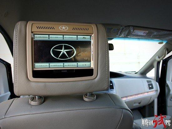 腾讯试驾江淮瑞风M5自动挡 主打商务流高清图片