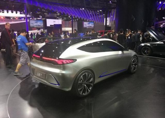疾驰EQ A海内首次亮相 有望2020年上市
