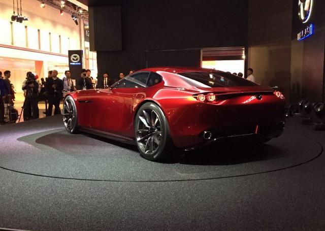 马自达全新转子观点车 或为马自达RX-9雏形