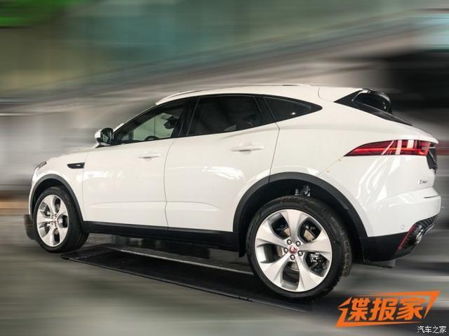 豪华紧凑型SUV 国产捷豹E-PACE实车谍照