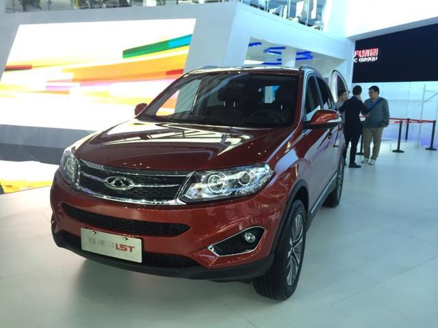 2015上海车展探馆 奇瑞瑞虎5 1.5T
