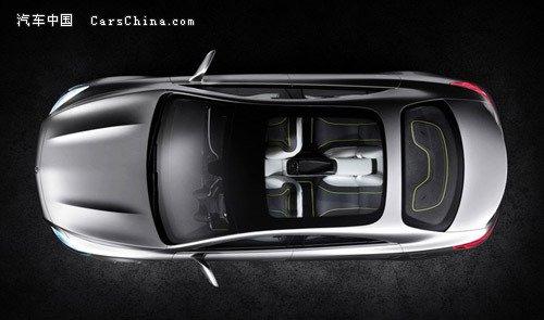 奔驰四门概念车发布 或将亮相北京车展