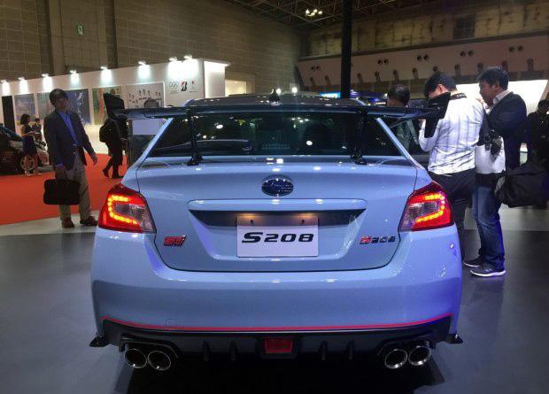 限量打造450台 斯巴鲁WRX STI S208亮相