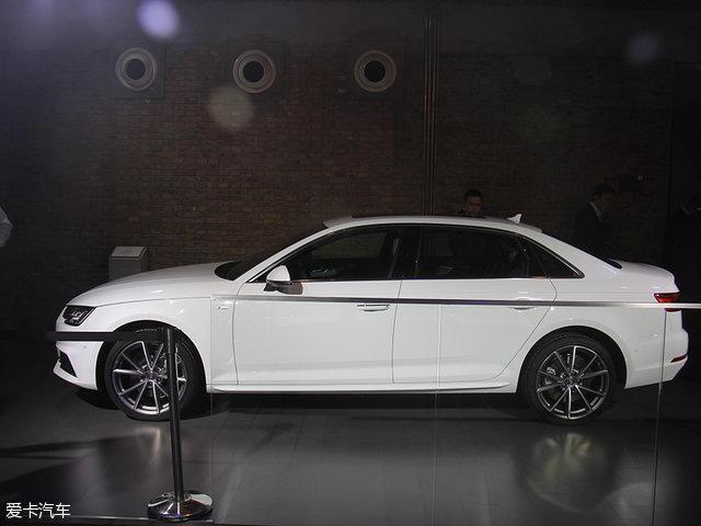 新一代奥迪A4L全球首发 轴距加长88mm
