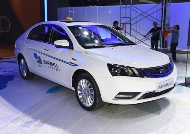 吉利新能源车型计划 EV/HEV/PHEV全面发力
