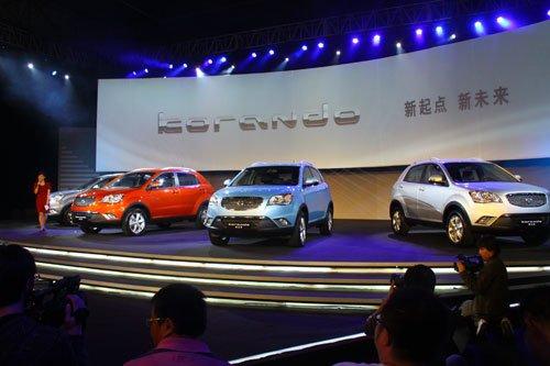 双龙汽车新款柯兰多上市 售17.98-25.98万