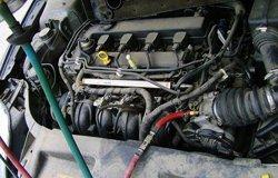 致胜车清洗节气门和进气道作业