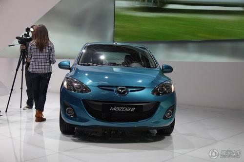 马自达2改款车型亮相 2011年引入国产