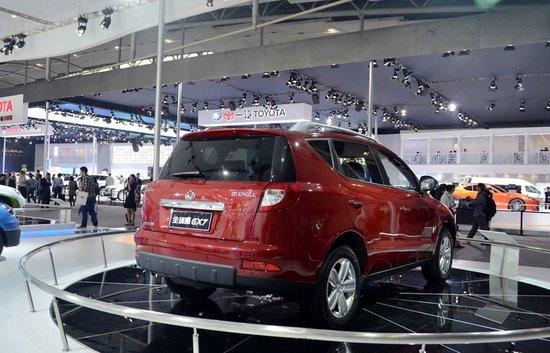全球鹰GX7将于北京车展上市 或9.29万起