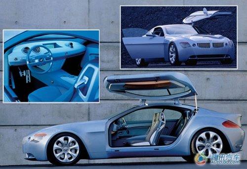 10年前的宝马Z9概念车更多的是扮演了开路者的角色