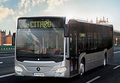 奔驰Citaro纯电动城市公交车将于2018年年底交付