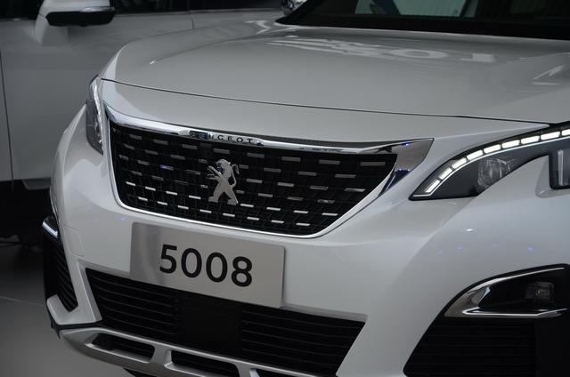 东风标致7座SUV 5008首发 将在6月上市高清图片