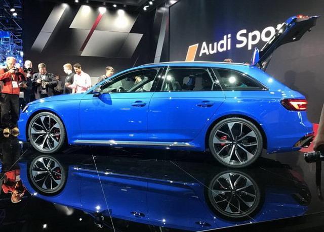 奥迪RS 4 Avant表态 百公里减速仅需4.1秒