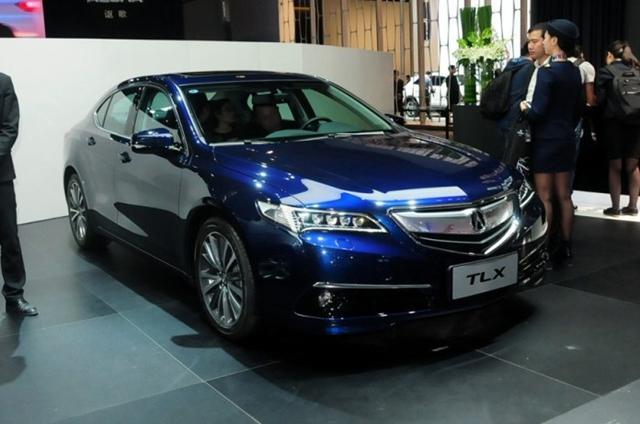讴歌新款MDX月底亮相 国产TLX下月上海首发