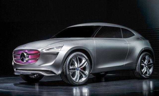 最新的g-code概念车被认为是奔驰未来小型车的预演,其定位会在a级车