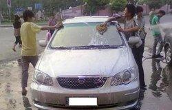 小R历次洗车作业 人工洗车与自动洗车