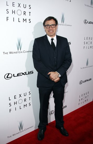 """全球品牌总经理马克·坦普林讲道.""""LEXUS雷克萨斯与Weinstein韦"""