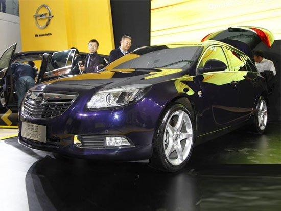 欧宝英速亚上海车展上市 售32.5-37.5万