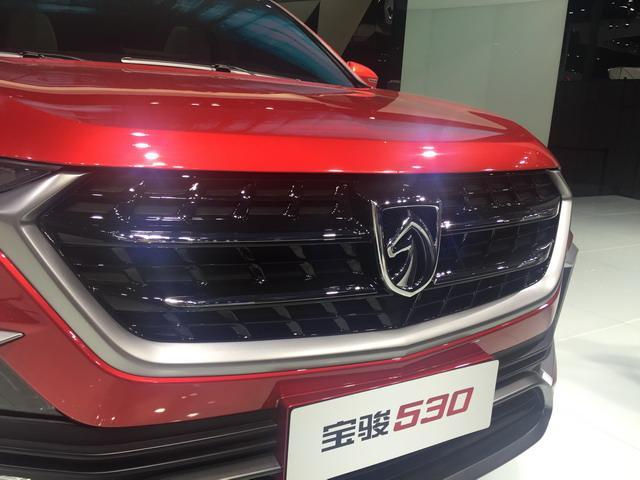 宝骏530展台亮相 颜值爆表堪比豪车