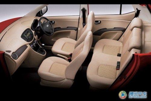 改款现代i10将亮相巴黎车展 配低排放动力