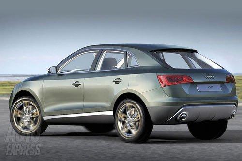 城市SUV新军 全新奥迪Q3上海车展全球首发