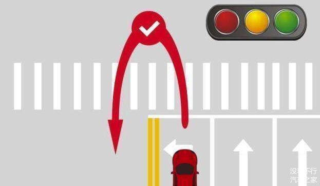 左转红灯能掉头吗 有人说可以 有人说不可以