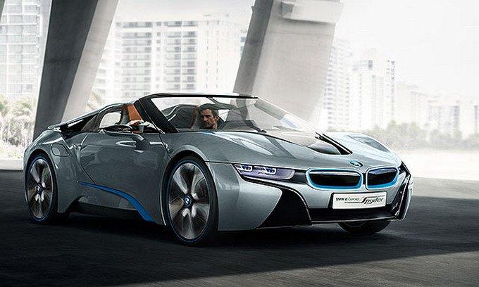 开眼角设计要追溯到2009年9月宝马发表的Concept Vision Efficient Dynamics概念车