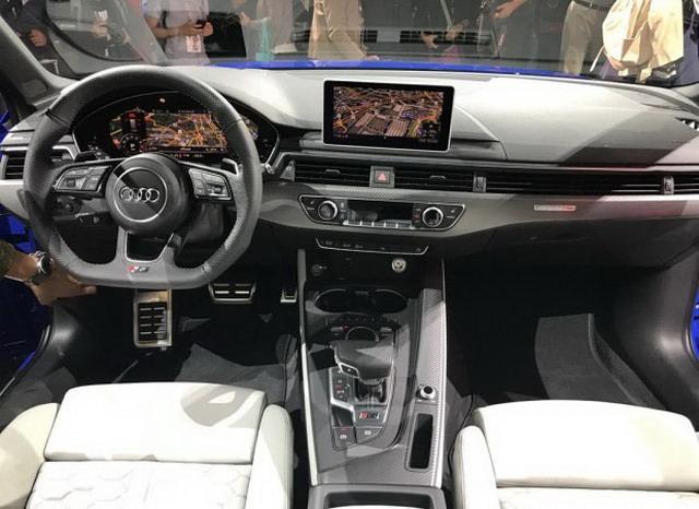 奥迪RS 4 Avant亮相 百公里加速仅需4.1秒