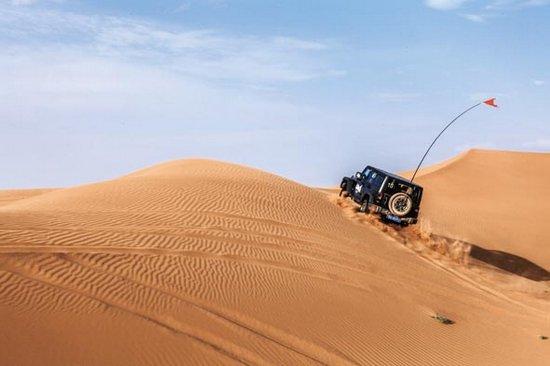 追寻天界之路 Jeep Rubicon腾格里之行