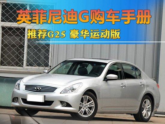 英菲尼迪G购车手册 推荐G25 豪华运动版