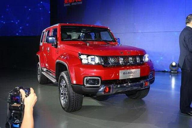 北京BJ40 Plus将于5月27日上市 轴距加长