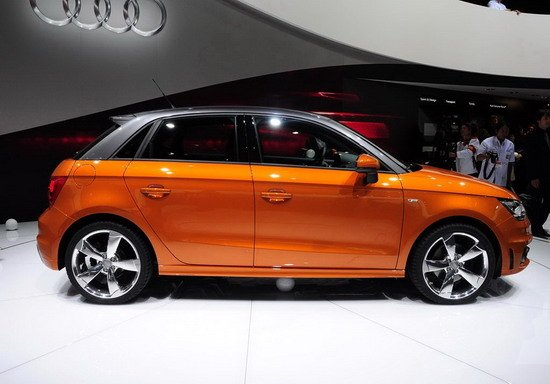 奥迪东京车展官方全球首发A1五门版车型