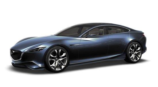 马自达概念车、新Mazda3三厢亮相上海车展