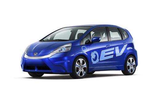 本田电动概念车FIT EV CONCEPT亮相洛杉矶
