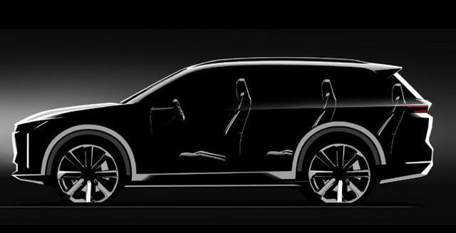 身段靠近奥迪Q7 车和家智能SUV信息曝光